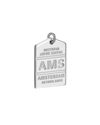 JET SET CANDY AMS AMSTERDAM LUGGAGE TAG CHARM