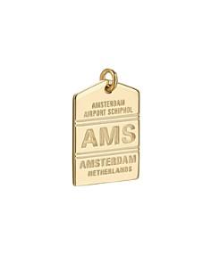 Jet Set Candy - AMS Amsterdam Luggage Tag Charm