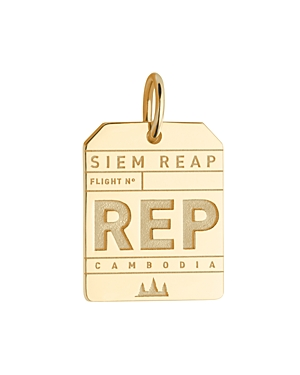 Jet Set Candy Rep Siem Reap Luggage Tag Charm