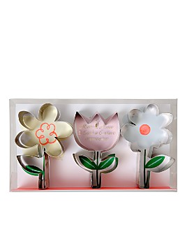 Meri Meri - Flower Cookie Cutters, Set of 3