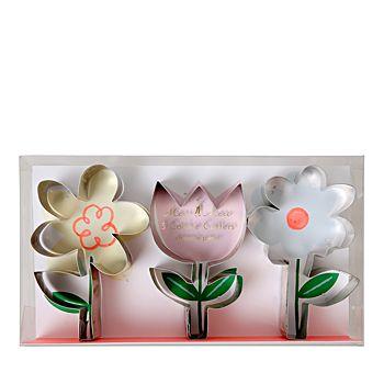 Meri Meri - Flower Cookie Cutters, Set of 3