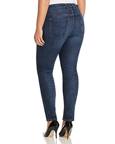 Lucky Brand Plus - Ginger Cropped Skinny Jeans in El Monte