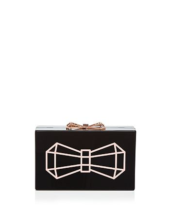 Ted Baker - Bowwe Resin Clutch