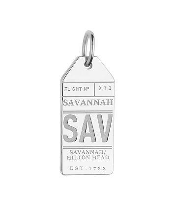 Jet Set Candy - Savannah, Georgia SAV Luggage Tag Charm
