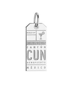 Jet Set Candy - Cancún, Mexico CUN Luggage Tag Charm
