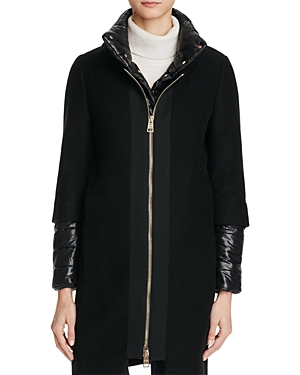 Herno Convertible Wool-Blend Coat - 100% Exclusive