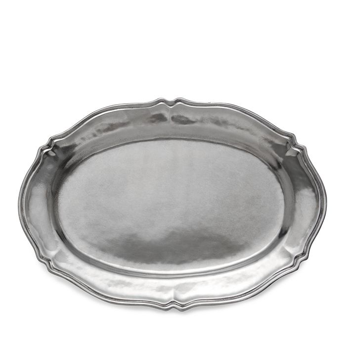 Arte Italica - Peltro Scalloped Tray