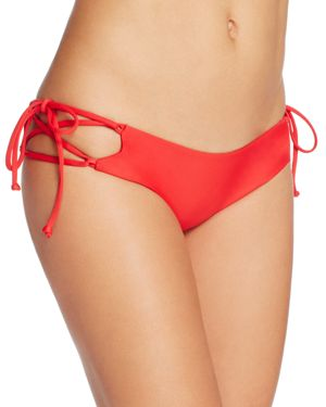 Lovers and Friends Ocean Tides Lace-Up Side Tie Bikini Bottom