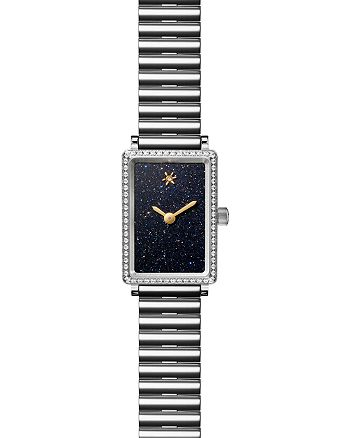 Gomelsky - The Shirley Fromer Bracelet Watch with Diamonds, 26mm x 18.5mm