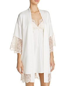 Flora Nikrooz Gabby Kimono Robe & Chemise - Bloomingdale's_0