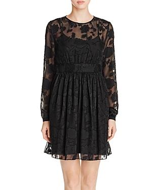 Michael Michael Kors Floral Jacquard Dress