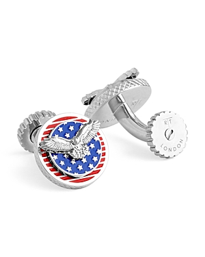 Tateossian Usa Eagle Cufflinks