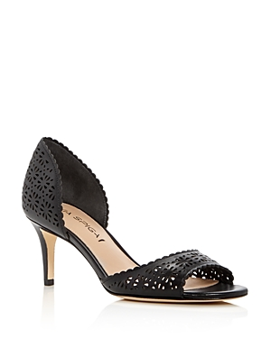 Via Spiga Lysette Perforated d'Orsay Pumps - 100% Exclusive