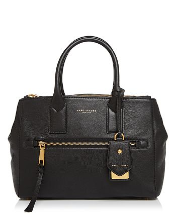 01ea238536a2 MARC JACOBS - Recruit East West Leather Tote