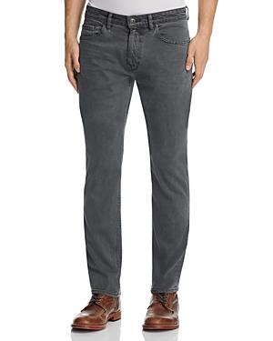 Paige Federal Slim Fit Jeans in Dark Ivy