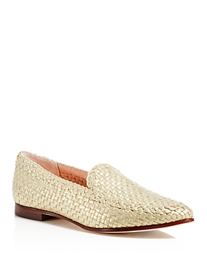 kate spade new york Caylee Metallic Loafers
