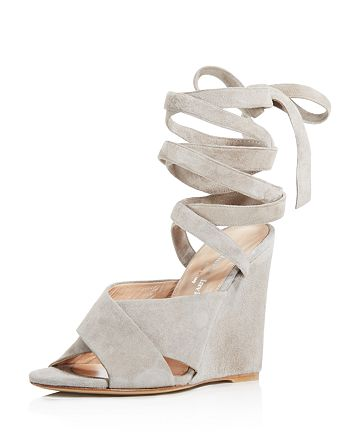 Charles David - Women's Quest Ankle Wrap Wedge Sandals