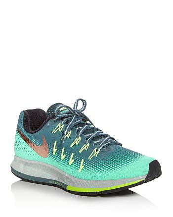 los angeles 6eb52 35e90 Nike Women's Air Zoom Pegasus 33 Shield Lace Up Sneakers ...