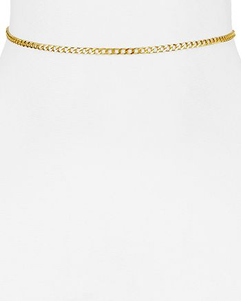 Argento Vivo - Curb Chain Choker Necklace, 12""