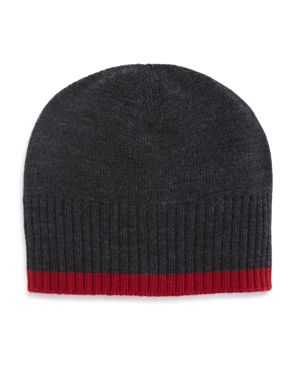 The Men's Store at Bloomingdale's Contrast Edge Beanie