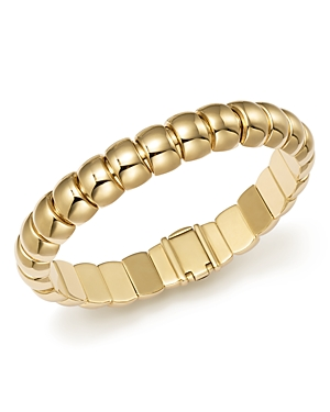 14K Yellow Gold Barrel Link Bracelet - 100% Exclusive
