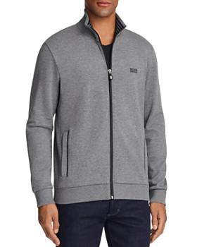 e56e77afb BOSS Hugo Boss - Skaz Contrast Trim Zip Sweatshirt ...