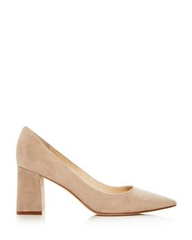 Marc Fisher LTD. - Women's Zala Suede Pointed Toe Pumps