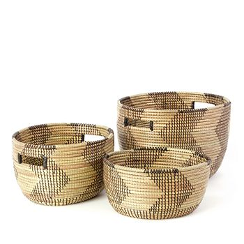 Swahili - Nesting Baskets, Set of 3