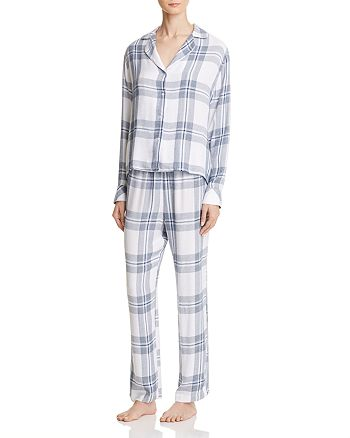 Rails - Plaid Shirt and Pants Pajama Set