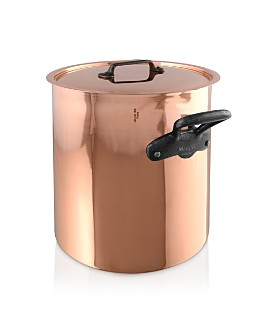 Mauviel - M'150c2 Copper 11.7-Quart Stock Pot and Lid