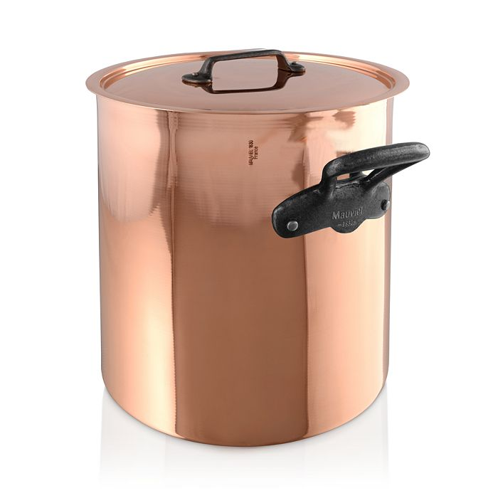 Mauviel - M'150c2 Copper 11.7-Quart Stock Pot and Lid