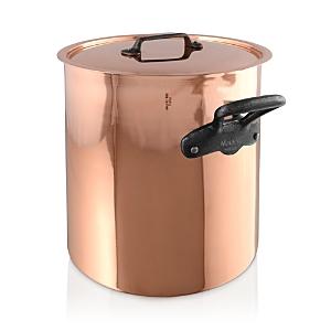 Mauviel M'150c2 Copper 11.7-Quart Stock Pot and Lid