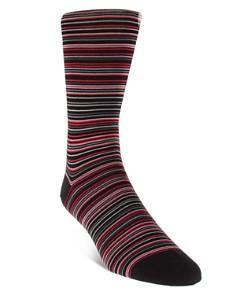 Cole Haan - Multi Stripe Dress Socks