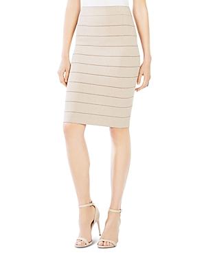 Bcbgmaxazria Alexa Metallic Bandage Skirt