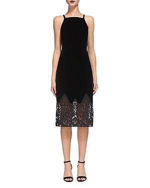 Whistles Dakota Velvet Dress