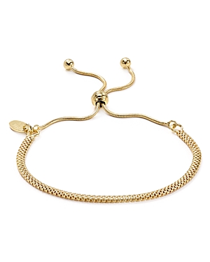 Argento Vivo Mesh Chain Adjustable Bracelet