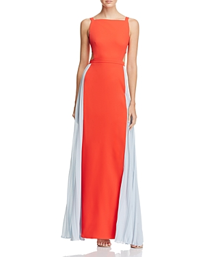 Bcbgmaxazria Square Neck Color Block Gown - 100% Exclusive