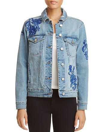 BLANKNYC - Embroidered Denim Jacket - 100% Exclusive
