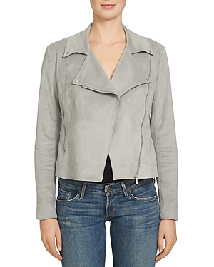 1.state Faux Suede Moto Jacket
