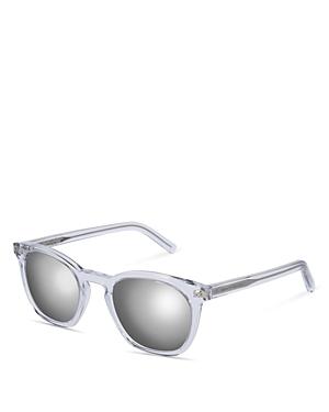 Saint Laurent Retro Thin Square Sunglasses, 49mm