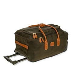 "Bric's - Life 21"" Carry On Rolling Duffel"