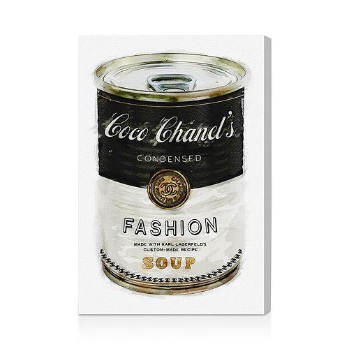 "Oliver Gal - Fashion Soup Wall Art, 10"" x 15"""