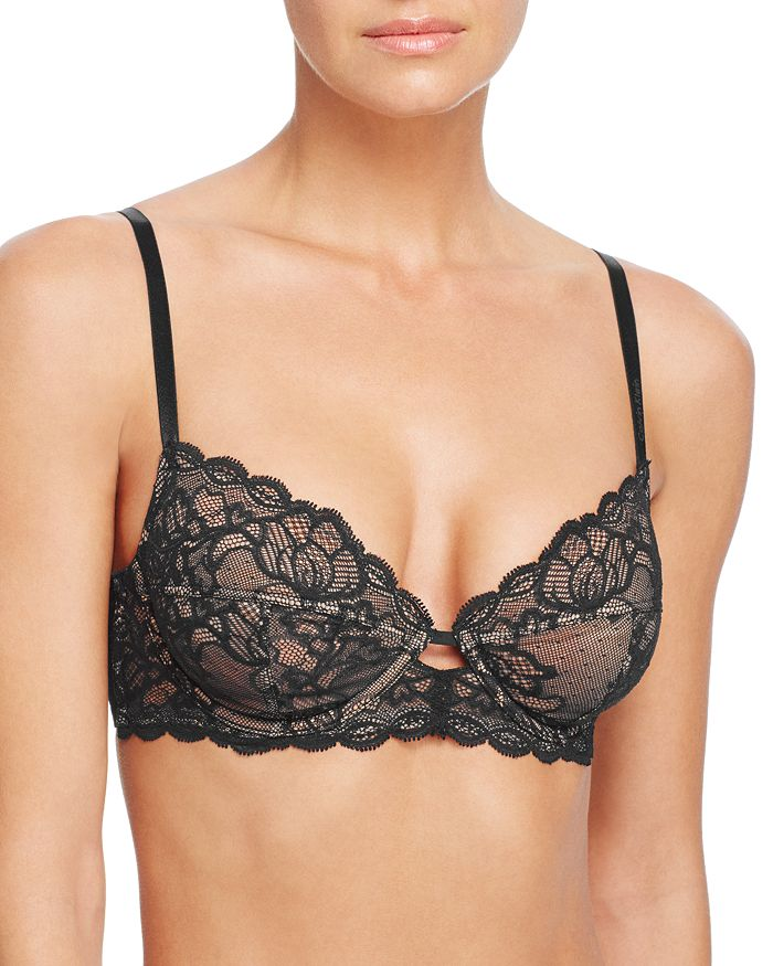 Calvin Klein - Seductive Comfort Lace Full Coverage Unlined Bra
