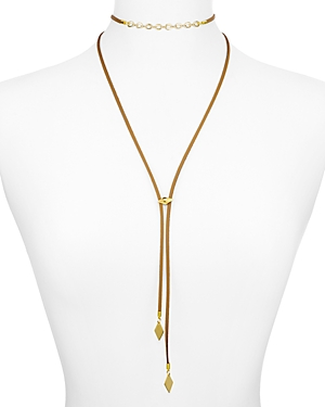 Vanessa Mooney Cicely Bolo Necklace, 13