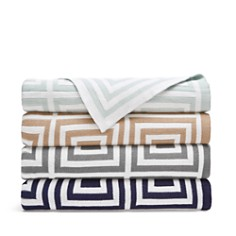 Hudson Park Geo Knit Throw - 100% Exclusive - Bloomingdale's Registry_0