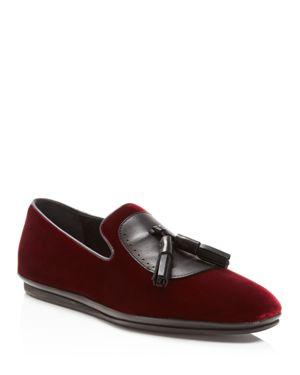 Salvatore Ferragamo Finnegan Velvet Tassel Dress Shoes 1754603