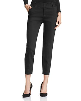 Alice and Olivia - Stacey Cropped Slim Pants