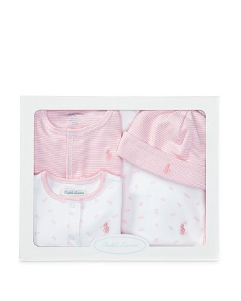 Ralph Lauren - Girls' 4-Piece Gift Set - Baby