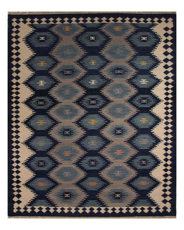 Jaipur Living Jaipur Anatolia Zebulon Area Rug, 5' X 8' In Patriot Blue/atmosphere