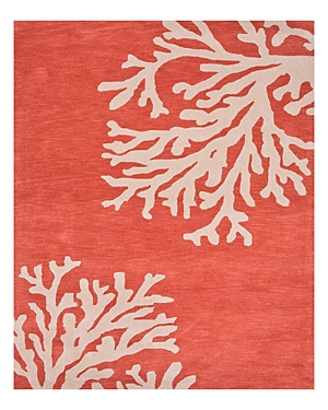 Jaipur Coastal Seaside Bough Area Rug, 3'6 x 5'6
